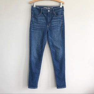 American Eagle Super High Rise Jegging jeans